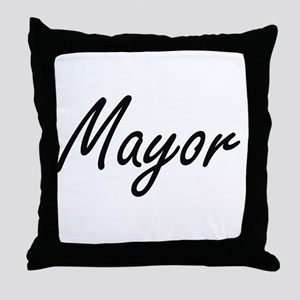 Mayor Artistic Job Design Throw Pillow