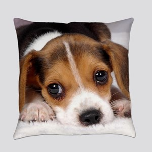 Cute Puppy Everyday Pillow
