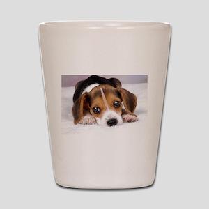 Cute Puppy Shot Glass