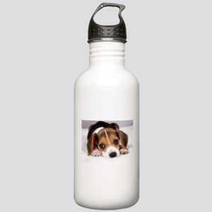 Cute Puppy Sports Water Bottle