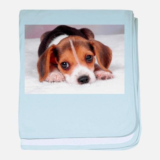 Cute Puppy baby blanket