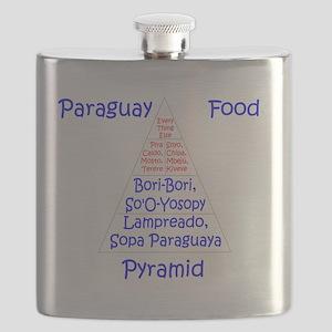 Paraguay Food Pyramid Flask