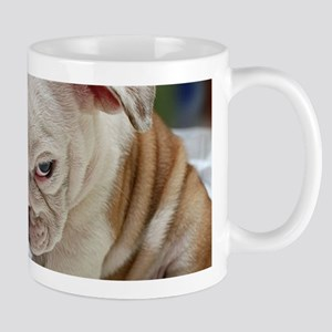 Funny English Bulldog Puppy Mugs
