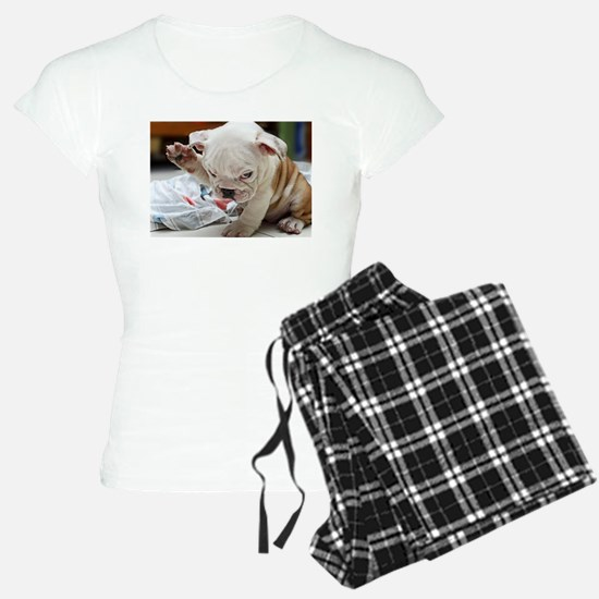 Funny English Bulldog Puppy pajamas