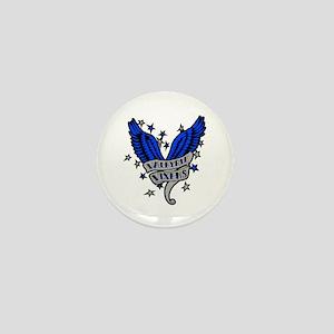 Valkyrie Vixens roller derby Mini Button
