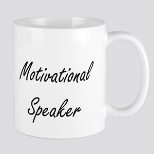 Motivational Speaker Artistic Job Design Mugs