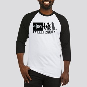 Paws In Prison Hope Love Dogs Baseball Jersey