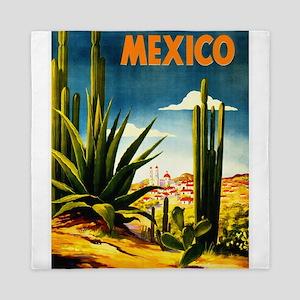 Vintage Mexico Travel ~ Village Queen Duvet