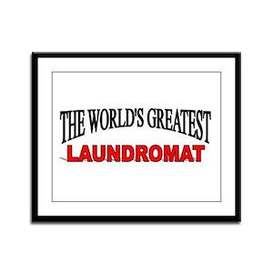 """""""The World's Greatest Laundromat"""" Framed Panel Pri"""