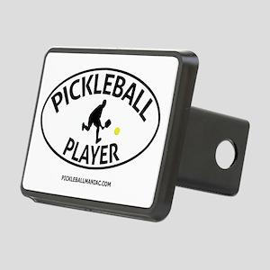Pickleball Player #2 Rectangular Hitch Cover