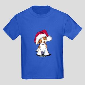 Santa Brittany Kids Dark T-Shirt