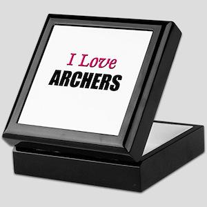 I Love ARCHERS Keepsake Box