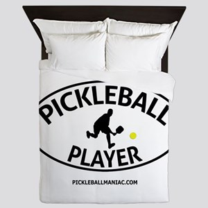 Pickleball Player #2 Queen Duvet