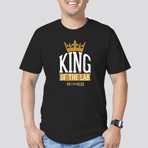 Bones King of the Lab Men's Fitted T-Shirt (dark)