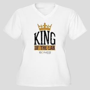 Bones King of the Women's Plus Size V-Neck T-Shirt