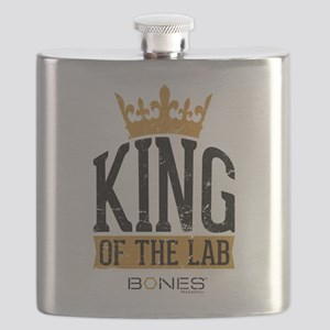 Bones King of the Lab Flask