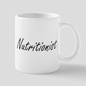 Nutritionist Artistic Job Design Mugs
