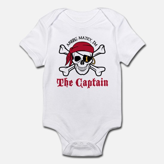 Pirate Birthday Age 1 Body Suit