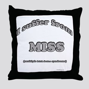 Setter Syndrome Throw Pillow
