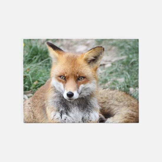 Fox002 5'x7'Area Rug