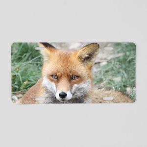 Fox002 Aluminum License Plate
