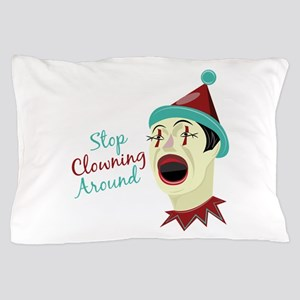 Clowning Around Pillow Case