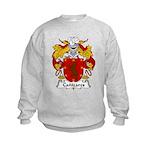 Canizares Family Crest Kids Sweatshirt