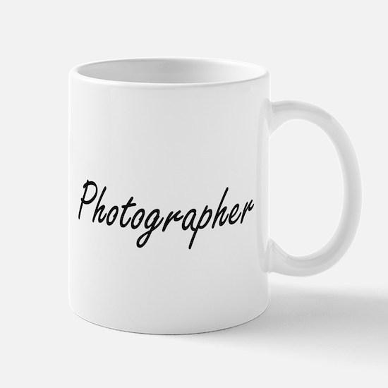 Photographer Artistic Job Design Mugs