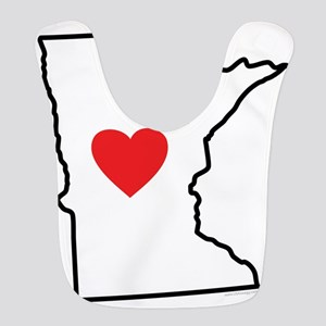 I Love Minnesota Bib