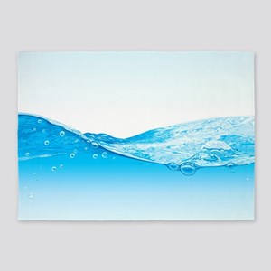 Water 5'x7'Area Rug