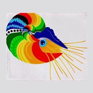 Cabo, The Fiesta Nautilus Throw Blanket