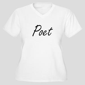 Poet Artistic Job Design Plus Size T-Shirt