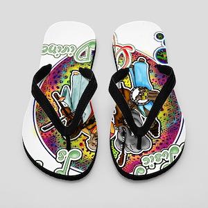 Music is Divine Flip Flops