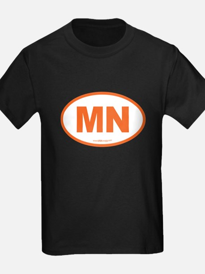 Minnesota MN Euro Oval T