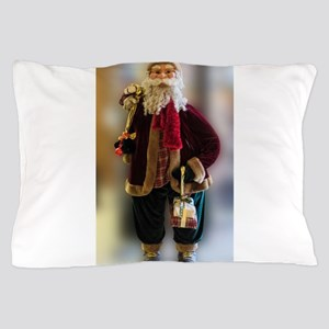 old time santa Pillow Case