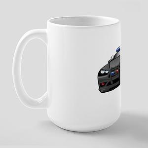Police Muscle Car Large Mug