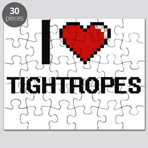 I love Tightropes digital design Puzzle