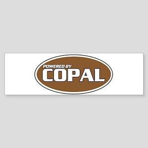 Powered By Copal Bumper Sticker