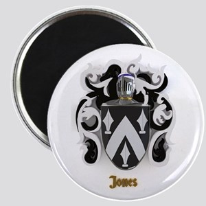 Jones Family Crest /Coat of Arms Magnets