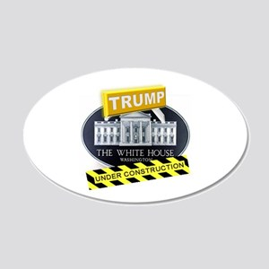 Trump White House 20x12 Oval Wall Decal
