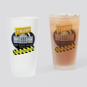 Trump White House Drinking Glass