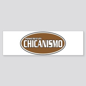 Powered By Chicanismo Bumper Sticker