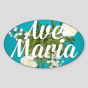 Ave Maria Sticker