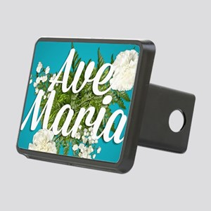 Ave Maria Rectangular Hitch Cover
