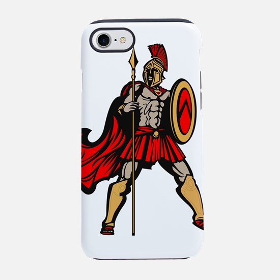 Spartan Warrior iPhone 8/7 Tough Case