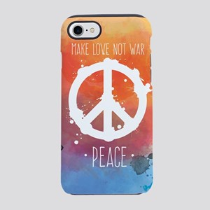 Peace Sign iPhone 8/7 Tough Case