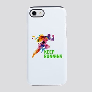 Keep Running iPhone 8/7 Tough Case
