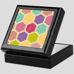 Hexagon Pastel Keepsake Box