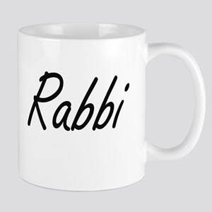 Rabbi Artistic Job Design Mugs