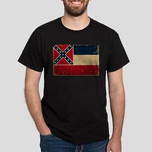 Mississippi State Flag Dark T-Shirt